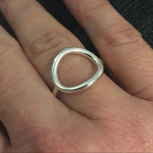 Silpada Sterling Silver Karma Ring